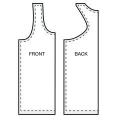 Racerback tank tops are usually made out of cotton jersey and are a great item to wear under blouses or on its own. In this tutorial I will show you how to create your own racerback tank top from scratch. Sewing Patterns Free, Free Sewing, Sewing Tutorials, Clothing Patterns, Sewing Hacks, Vogue Patterns, Vintage Patterns, Vintage Sewing, Free Pattern