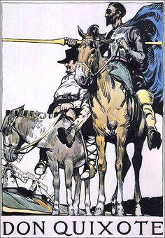 "by Edward Hopper (c 1899) - ""Don Quixote."""