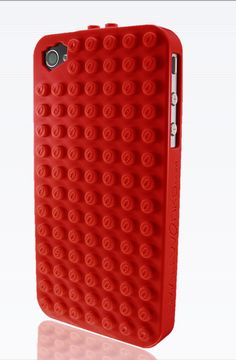 #Lego iPhone case to build creations anywhere. #Geek