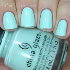 """China Glaze: Spring 2014 City Flourish Collection Swatches and Review """"At Vase Value"""""""
