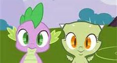 I really like the other baby dragon they made up! (the one on the right) She's so cute!
