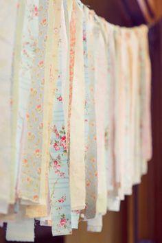 vintage fabric backdrop