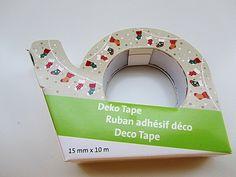 Deko Tape Weihnachtsstrümpfe von Frollein KarLa auf DaWanda.com