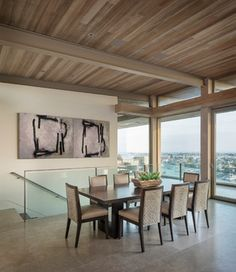 BLUFFTOP House - contemporary - dining room - orange county - GRAHAM architecture