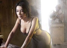Phim 18+ 'Tân Kim Bình Mai' hé lộ một số hình ảnh cực kỳ gợi cảm của Phan Kim Liên ( người mẫu trẻ Cung Hiểm Phi đóng).