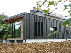 """Résultat de recherche d'images pour """"architecte extension toit zinc"""""""