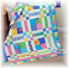 I really want to make this quilt.. does anyone know what the pattern is??