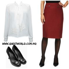 #Newarrivals #shirt size 10-20 #5500 #Skirt size 18 20 #5500 #shoes size 7/41 8/42 #8000 www.questworld.com.ng Nationwide Delivery. Pay on delivery in Lagos
