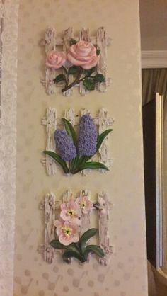 Polymar clar flowers my diesing sÜmbÜl eldek salvabrani Spool Crafts, Clay Crafts, Diy And Crafts, Plaster Sculpture, Sculpture Painting, 3d Wall Art, Mural Art, Polymer Clay Flowers, Polymer Clay Art