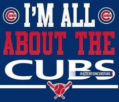 I'm all about the Cubs Chicago Cubs Pictures, Chicago Cubs Fans, Chicago Cubs World Series, Chicago Cubs Baseball, Baseball Mom, Chicago Bears, Baseball Signs, Sports Signs, Baseball Stuff