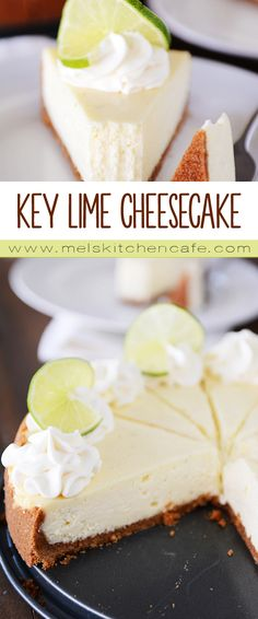 Amazing Key Lime Cheesecake {Plus a Foolproof & Easy Method to Avoid Cracking}