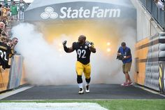 James Harrison was PUMPED UP to be back in Heinz Field!