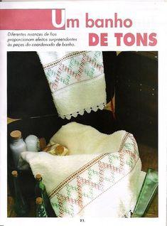 Boa Noite,  A publicação de hoje vai para enfeitar os itens de sua casa com muito bom gosto na arte do vagonite.    Bjs e bons bordados     ...