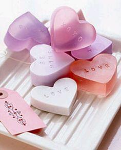 Heart  shaped soaps ~ Ʀεƥɪииεð вƴ╭•⊰✿ © Ʀσxʌиʌ Ƭʌиʌ ✿⊱•╮