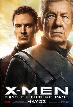 Michael Fassbender Latinoamérica: Nuevos posters de XMEN DOFP