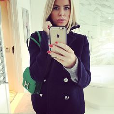 Caroline Stanbury.. #pacorabanne #peacoat #hermes #constancebag