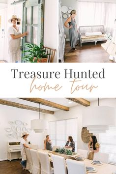 Mixing Vintage Finds in a Home - Thrifting Home Decor - Facebook Marketplace Home Decor - Modern Farmhouse