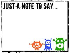 Printable Reusable Lunch Box Notes for Back to School- simply print and laminate to use over and over again!