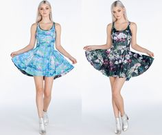Take My Monet Vs Pink Water Lilies Inside Out Dress ($170AUD) by BlackMilk Clothing