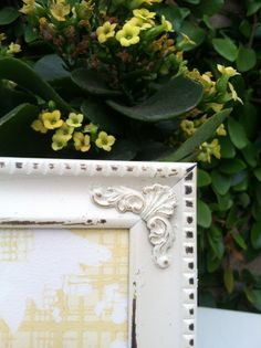 Picture Frame  5x7 Ornate Shabby Chic Distressed  par ThePaintedLdy