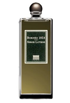 Borneo 1834 by Serge Lutens is an earthy, sweet, spicy Chypre Woody fragrance that features patchouli, white flowers, cardamom, galbanum, french labdanum and cacao. - Fragrantica <3<31/2