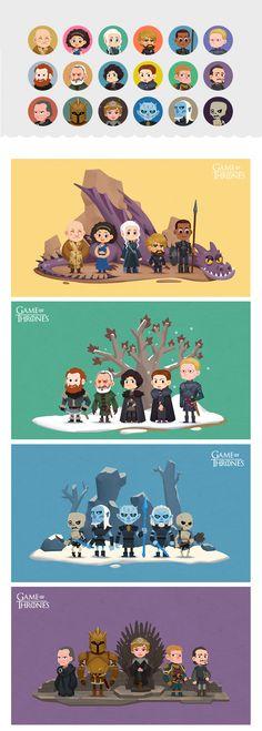 《Game of Thrones》人物插画系列(一)