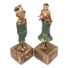Prins en Prinsesje Heerlijk Brons look beelden - Made by Ellen Buchwaldt