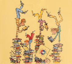World Book Day poster, Quentin Blake