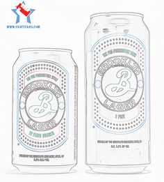 Brooklyn Brewery Lager Cans