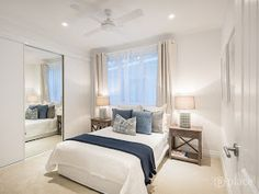 Our Hampton Style Forever Home: A Modern Hamptons Masterpiece Hamptons Style Bedrooms, Hamptons Style Decor, Hamptons House, The Hamptons, Home Bedroom, Bedroom Decor, Bedroom Ideas, Master Bedroom, Coastal Bedrooms