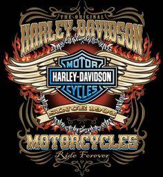 Logo Harley Davidson Más