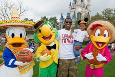 Chris Paul at Disney World for the 2012 NBA All-Star Game in Orlando
