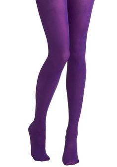 Tights for Every Occasion in Violet | Mod Retro Vintage Tights | ModCloth.com - StyleSays