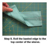 how to make a quilt sleeve step 8