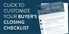 What Should You Bring to Closing – Customizable PDF Checklist for Buyers and Sellers Closing Day, Top Agents, Home Selling Tips, Set Up An Appointment, Home Warranty, The Real World, Free Resume, Sample Resume, Closer