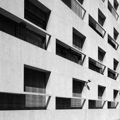 Casa del Fascio  by Guiseppe Terragni (1904-1943) Como Italy 1932-36 Facade Black White Detail  photographed by Frank Dinger  BECOMING - office for visual communication www.becoming.de www.instagram.com/frank.dinger