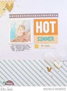 Summer Layout with Michelle Wedertz