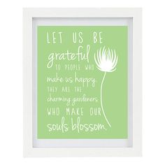 Let Us Be Grateful For The People Who Make by ColourscapeStudios, $15.00