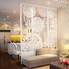 Sublime Tricks: Room Divider With Tv Beds vintage room divider furniture. Living Room Partition Design, Room Partition Designs, Partition Ideas, Partition Walls, Room Divider Doors, Sliding Room Dividers, Living Room Designs, Living Room Decor, Bedroom Decor