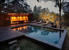 Bowen Mountain Residence by CplusC