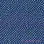 dear Stella Confetti Dot Navy [DS-37-Navy] - $10.95 : Pink Chalk Fabrics is your online source for modern quilting cottons and sewing patterns., Cloth, Pattern + Tool for Modern Sewists