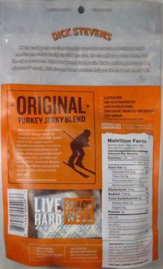 Discover how Dick Stevens - Original Blend turkey jerky trail mix fared in a jerky review. http://jerkyingredients.com/2015/11/22/dick-stevens-original-blend-turkey-jerky-mix/ @dicksteven1 #dickstevens #dickstevensjerky #review #food #jerky #ingredients #jerkyingredients #jerkyreview #turkey #paleo #paleofood #snack #protein #snackfood #foodreview #originalflavor #original #trailmix #jerkytrailmix #turkeyjerky