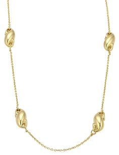 4abcf51d2 Tiffany & Co. Tiffany & Co. Peretti Puffed Curved Charms 18k Yellow Gold  Necklace
