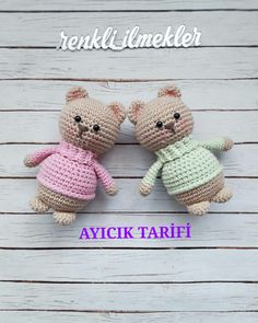 Watch This Video Incredible Crochet a Bear Ideas. Cutest Crochet a Bear Ideas. Crochet Bear, Cute Crochet, Crochet Animals, Crochet Crafts, Crochet Dolls, Crochet Projects, Easy Crochet Patterns, Amigurumi Patterns, Amigurumi Doll