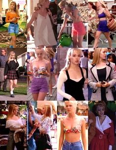 Don't ask me why, but lately I've been obsessing over Beverly Hills 90210 reruns. I think we all secretly love and miss the gang. 90210 Fashion, 80s And 90s Fashion, Fashion Tv, Retro Fashion, Vintage Fashion, Fashion Outfits, Fashion Trends, Beverly Hills 90210, Look Vintage