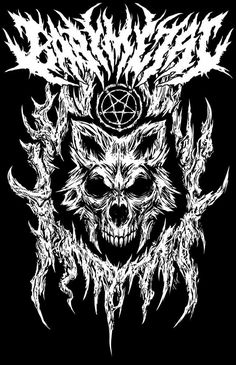 Metal Band Logos, Metal Bands, Heavy Metal Art, Death Art, Dark Art Drawings, Extreme Metal, Dark Tattoo, Metal Artwork, Band Posters