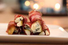 Bilderesultat for fingermat til fest Tapas, Sushi, Meat, Ethnic Recipes, Sushi Rolls