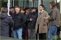 Jared, Jensen and Misha onset 3/11/2015