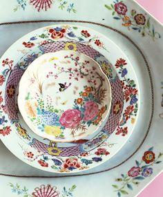 Lisa Hubbard. Love the dishes!