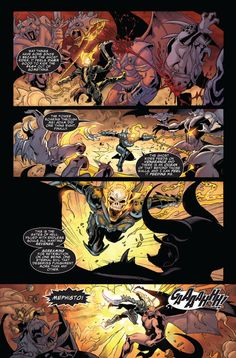 Lady Ghost Rider Comic Panel